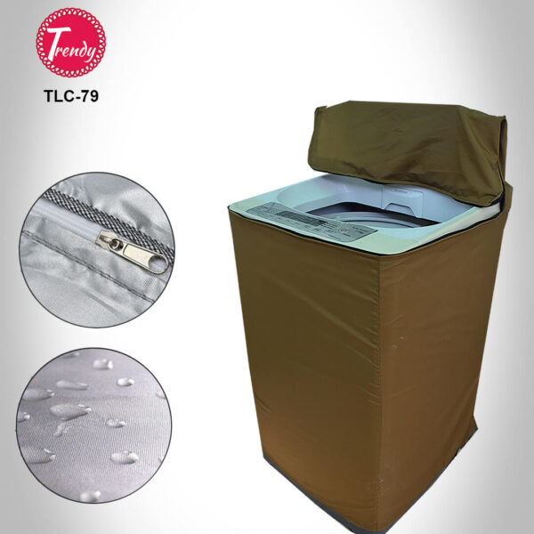 Top Load Washing Machine Cover Protector Camel color
