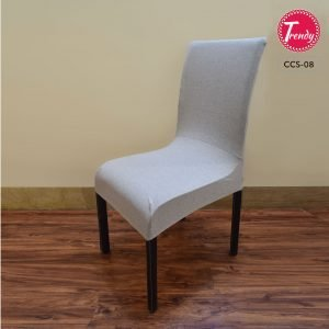 Stretchable Chair Cover Grey