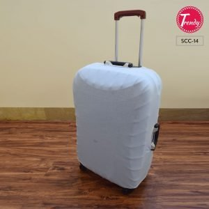 Suit Case Cover Sky Blue