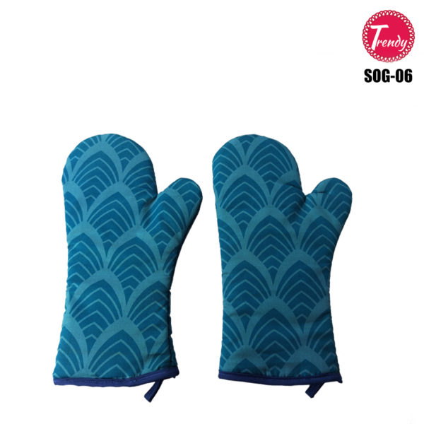 Glove Pair Oven Mitts