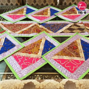 Sindhi Hand Embroidery Runner Set And Place Mat Set TRS-010