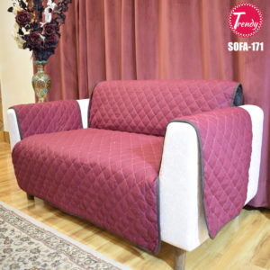 Maroon Sofa Cover 171