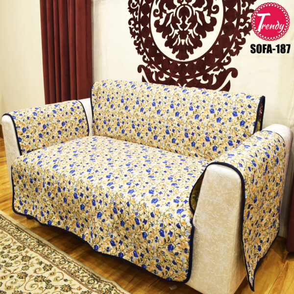 Best Quilted Fabric Sofa-187