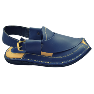 Extra Soft Charsadda Chappal In Navy Blue color