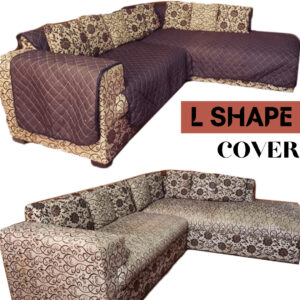 Best Quilted L Shape Sofa Cover