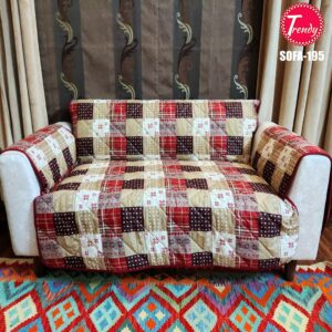 Best Quilted Fabric Sofa-195