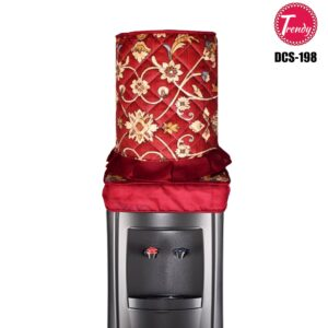 Water Dispenser Cover Dispenser Bottle cover Red Color with Flower Print