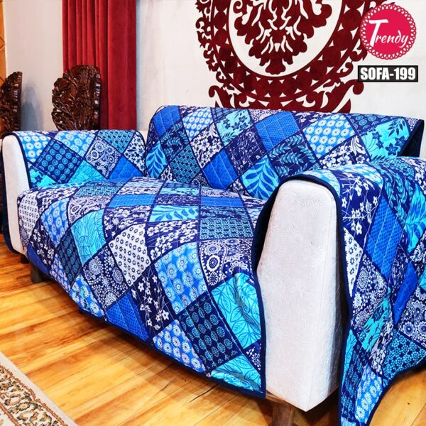 Best Quilted Fabric Sofa Cover Online in Pakistan-199